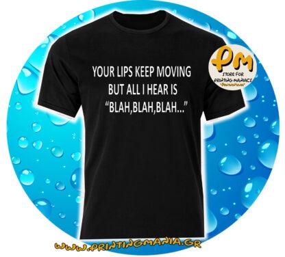 your lips blah blah...