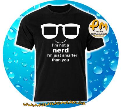 i'm not a nerd...